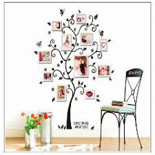 large size family photo frame tree acrylic wall stickers home art decor living room bedroom decals removable bedroom large size living
