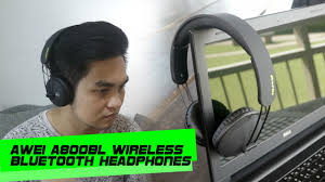 Wireless Bluetooth <b>Headphones</b> - <b>Awei A800BL</b> Review - YouTube