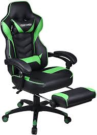 Video Gaming Chair Racing Office - Reclining PU ... - Amazon.com
