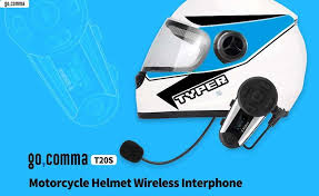 <b>gocomma T20S Noise Reduction</b> Motorcycle Helmet Interphone ...