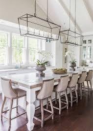 vintage kitchen design with glass iron pendant lights beach house kitchen nickel oversized pendant