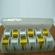 Oval Tinsel Box of 12 Small Spools (<b>MT</b>-<b>02</b>) – Saga Instruments