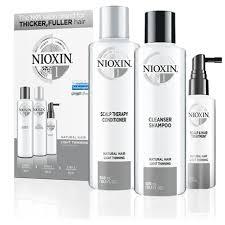 Система <b>1 NIOXIN</b> – Для неокрашенных тонких натуральных волос