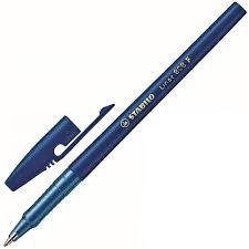 <b>Ручка шариковая STABILO Liner</b> F 808/41 0,38мм, синий