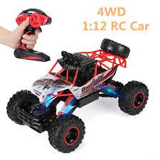 1:12 <b>4WD</b> Alloy Speed <b>RC Car 2.4G</b> Radio Remote Control Rock ...