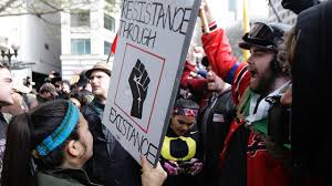 Anti-Trump protesters, Trump supporters met during May Day; here's ...