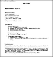 sample resume for hairstylist free   sample templatessample resume for hairstylist free