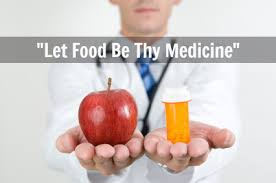 Image result for let food be thy medicine