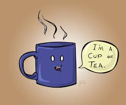 Image result for images cup of tea cartoon