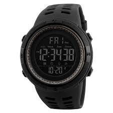SKMEI Men <b>Sports Watches</b> Countdown Double Time Watch Alarm ...