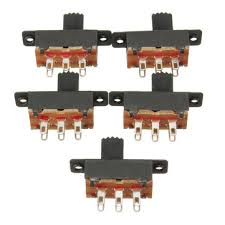 <b>5pcs</b> 6 pins slide <b>switch</b> on/on vertical mini miniature terminals Sale ...