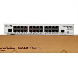 Купить <b>Cloud Router Switch</b> CRS125-24G-1S-IN от <b>Mikrotik</b> в ...