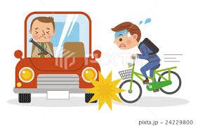 「自転車事故 イラスト」の画像検索結果