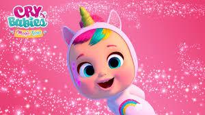 <b>DREAMY</b> the <b>unicorn</b> CRY BABIES MAGIC TEARS Special ...