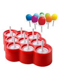 Buy <b>1Pc</b> Silicone Mini Ice Pops Mold <b>Ice Cream</b> Lolly Maker ...