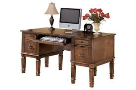 medium brown hamlyn 60 ashley furniture home office desk