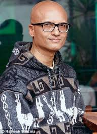 Jeet Thayil poet, musician, songwriter, and novelist - article-2266006-1714142F000005DC-929_306x423