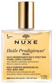 <b>Nuxe</b> Huile <b>Prodigieuse</b> Riche <b>Multi</b>-<b>Purpose</b> Oil 100ml