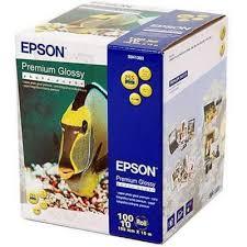 <b>Фотобумага Epson</b> S041303 <b>Premium Glossy</b> Photo Paper (100x8м ...