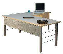 metal leg l shape desk big office desks
