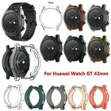 For Huawei Watch GT 42mm Transparent TPU Watch Cover ... - Vova
