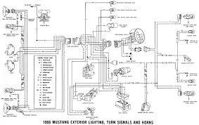 lelu s 66 mustang 1966 mustang wiring diagrams 1966 mustang exterior lighting diagram