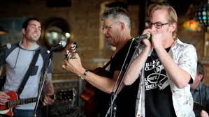 photos of the week 6 the standard mitch crute jon clegg and eddy boyle playing harmonica in the newly formed band the