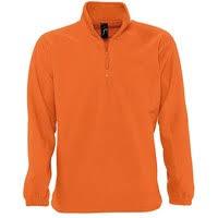 <b>Толстовка из флиса NESS</b> 300, оранжевая — Кул Дизайн