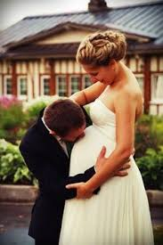 Image result for wedding pregnant