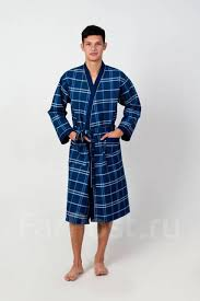 <b>Халат вафельный</b> мужской - Основная одежда во Владивостоке