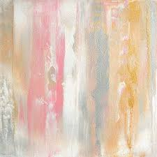 Pink And <b>Gold Abstract</b> Art | Wayfair