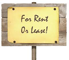 For rent or lease