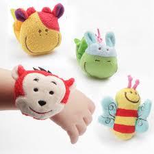 <b>1Pcs</b> Animal <b>Baby</b> Toys <b>Plush Baby</b> Rattles <b>Baby</b> Toy Wrist Strap ...