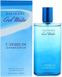 Davidoff <b>Cool Water Caribbean Summer</b> Edition Eau De Toilette ...