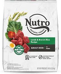 NUTRO Natural Choice <b>Adult</b> Dry <b>Dog</b> Food, <b>Lamb</b> & Venison