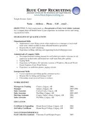 doc image for resume objective summary examples now