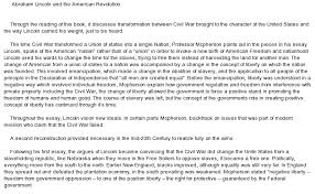 abraham lincoln essay free essays on abraham lincoln