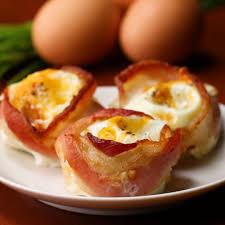 Bacon <b>Egg Cups</b> Recipe by Tasty