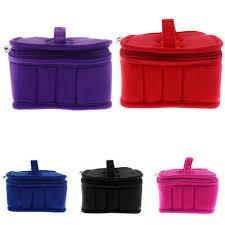 Travel Aromatherapy <b>Essential Oil</b> Storage Carry Bag Storage Case ...