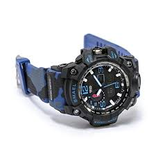 <b>SMAEL men's</b> sports <b>watch</b> outdoor waterproof <b>watch</b> double ...