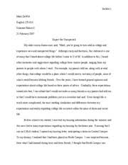 eng   college writing   michigan   course hero  pages comparison and contrast essay   final draft