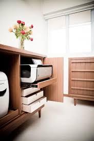 1000 ideas about printer storage on pinterest legend homes printer stand and printer cart built office storage