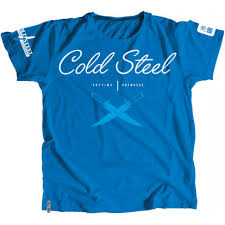 <b>Футболка COLD STEEL CROSS</b> GUARD BLUE TEE FOR WOMEN (L)