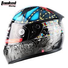Tank Helmet TANKED Motorcycle Double Lens Anti-fog Men And ...