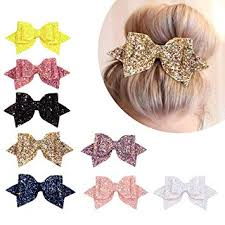 Kordear <b>Glitter Hair Bows</b> - Sequin Hair Clip, Baby Girls Boutique ...