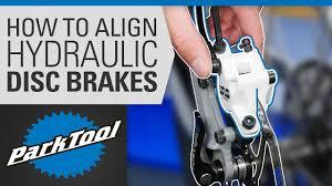 How to Align a <b>Hydraulic Disc</b> Brake on a <b>Bike</b> - YouTube