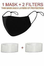<b>COTTON MOUTH FACE</b> Mask Anti-Dust Reusable Washable 5 ...