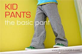 <b>Kid Pants</b>, Basic – MADE EVERYDAY