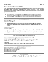 finance executive resume examplesample provided by resume professors