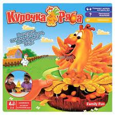 <b>Family Fun</b> Настольная игра <b>Курочка Ряба</b> (NST0004) - Игры ...